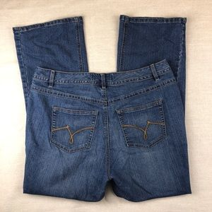 Just My Size modern boot cut jeans Size 16W